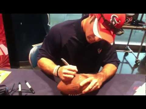 Neil Rackers Autograph Session