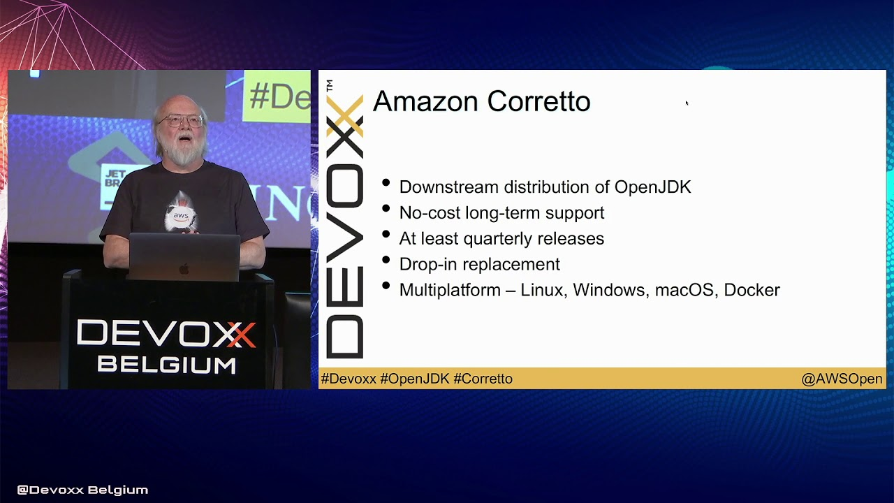 Amazon Releases Corretto - OpenJDK Distribution