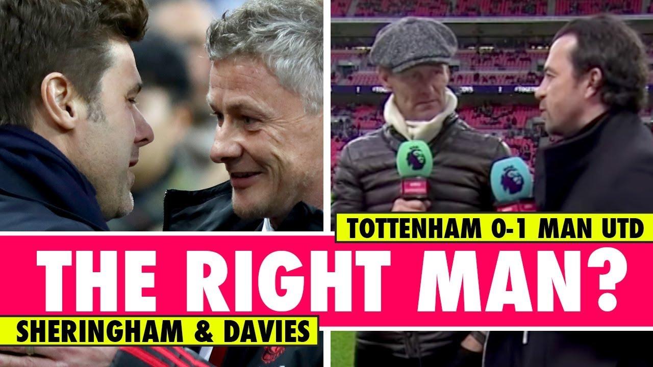 Ole, Pochettino or Southgate for United?   Tottenham 0 - 1 Man United   Astro SuperSport