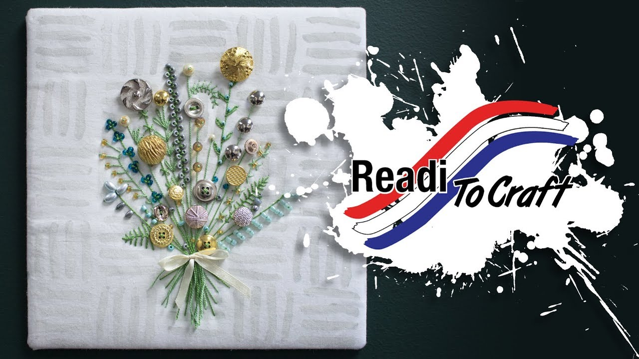 Readi to Craft: Embroidery Bouquet