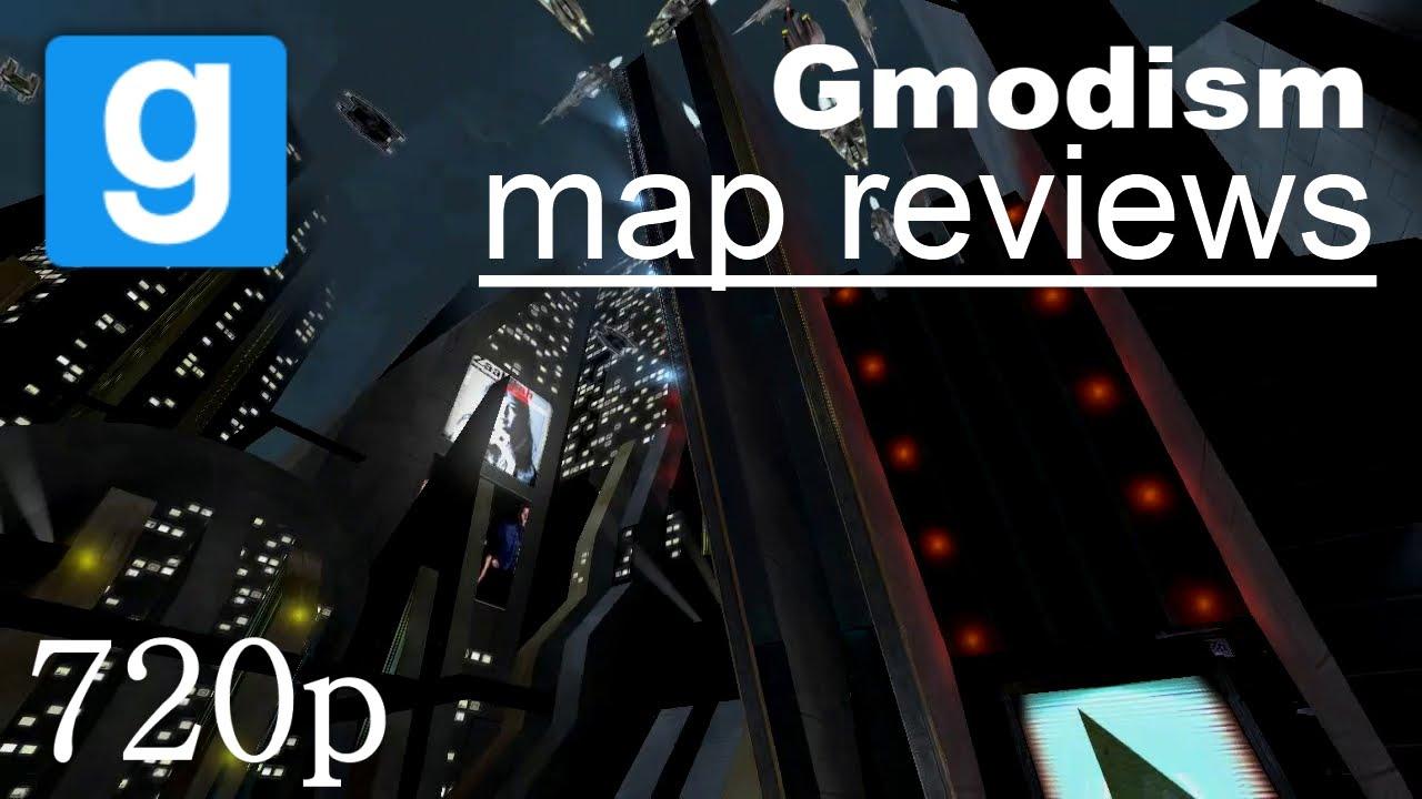 Garry's Mod Map Review: Dm_CloudCity