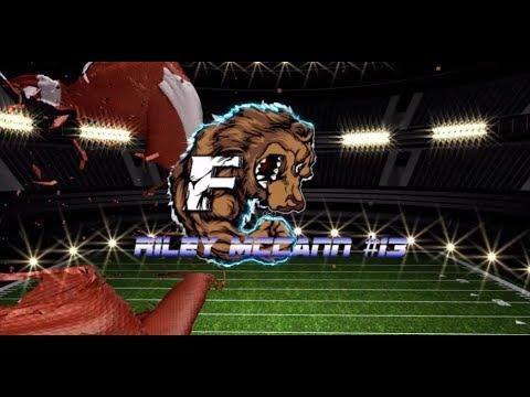 Riley McCann Football Highlights Franklin Community High School v Whiteland 2017
