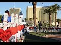 1 October Anniversary Sunrise Remembrance Held in Las Vegas for Route 91 Harvest Victims