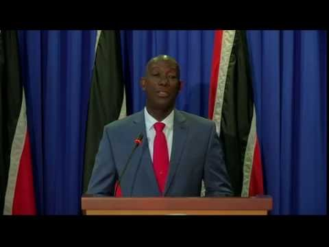 Prime Minister Rowley at Post Cabinet Media Briefing (Thursday 18th August 2016)