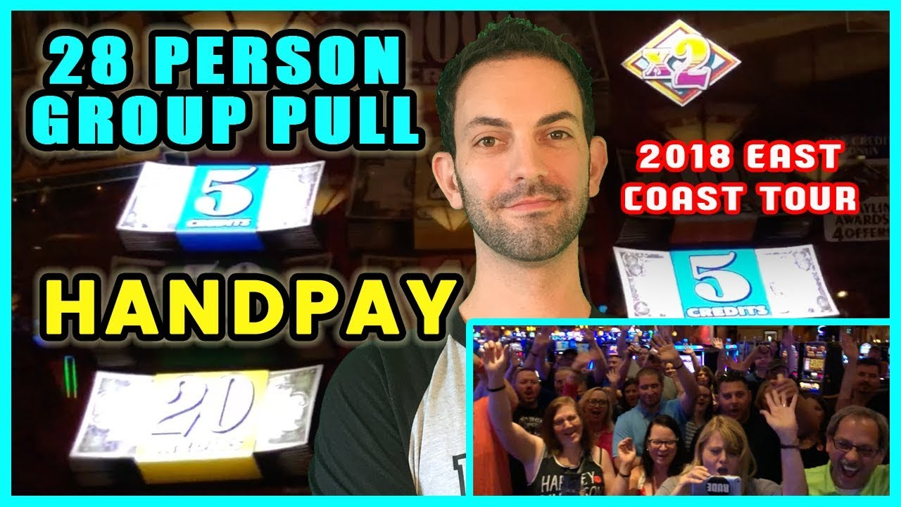 ????28 Person HIGH LIMIT ➡$50/SPIN⬅ Group Slot Pull ???? Four Winds Casino????????EAST COAST TOUR ✦