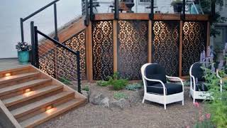 Best Deck Skirting Ideas – Elevated Backyard Designs Ideas For Beautiful Home #2