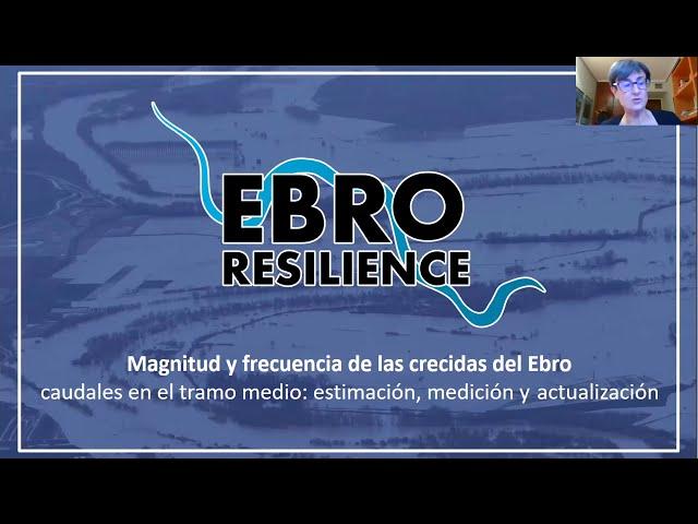 Jornada Divulgativa sobre Magnitud y frecuencia de las crecidas en el Ebro.