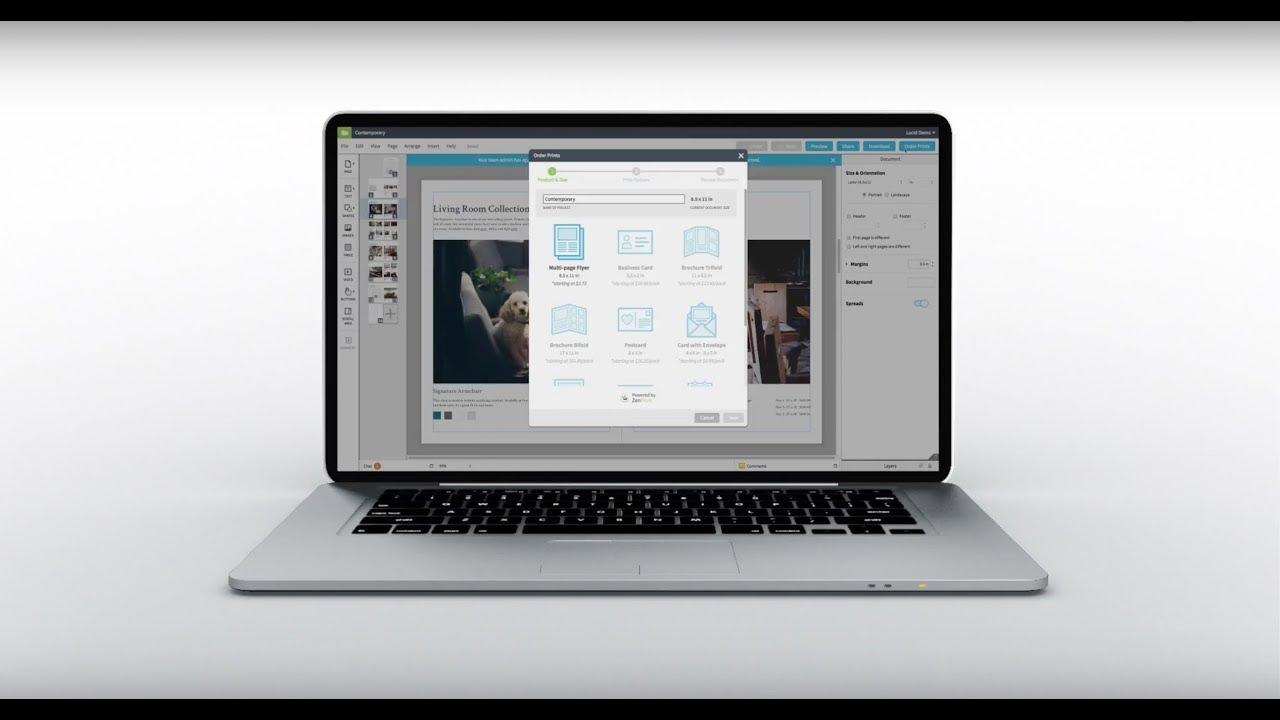 InDesign [Free] Online Alternative with Indesign Import