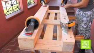 PALLET FAIDATE Come costruire un divanetto in legno di pallet in poche mosse!
