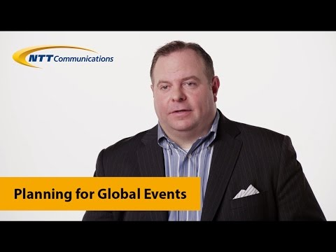 NTT Com and the Planning for Global Events