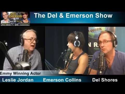 The Del & Emerson Show - Leslie Jordan/Jeremy Schwab - 6/25/14