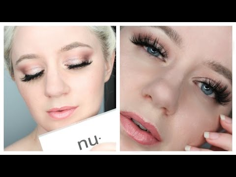 Nubounsom 3D Mink Lashes Bella on Hooded Eyes - Lustrous Beauty