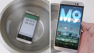 HTC One M9 Water Test - Water Resistant Again?!