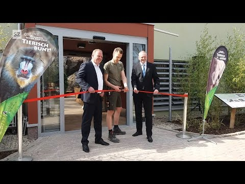 Eröffnung neues Afrikahaus im Dresdner Zoo