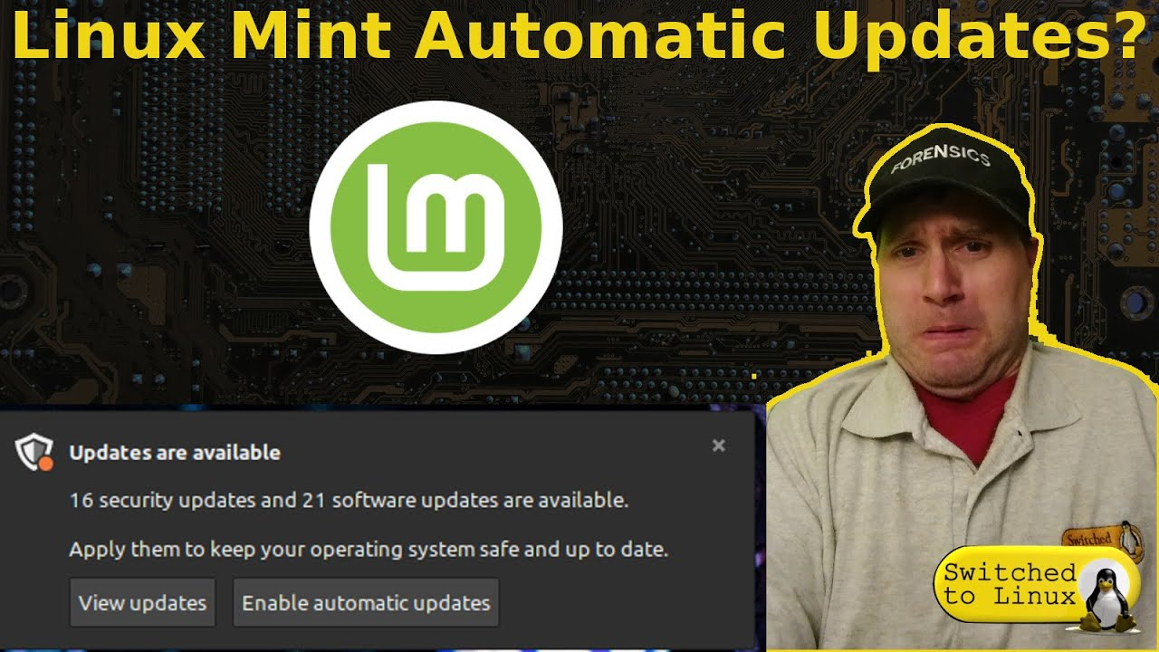 Linux Mint Automatic Updates?