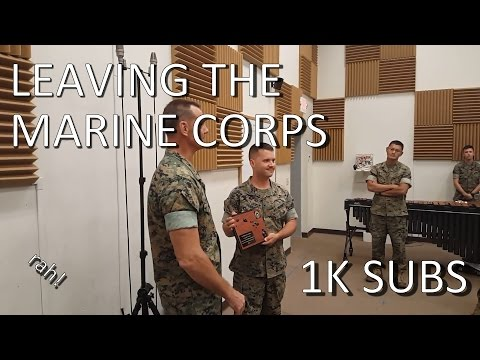 UPDATE: Leaving the Marine Corps and reading your comments! (1K Subs!)