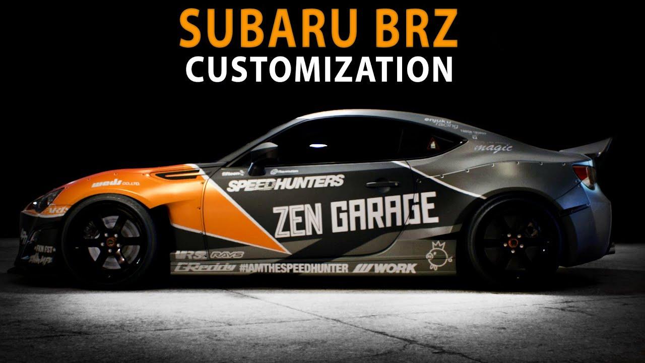 Rc Drift Cars Wallpaper Nfs 2015 Subaru Brz Speed Art Customization Youtube