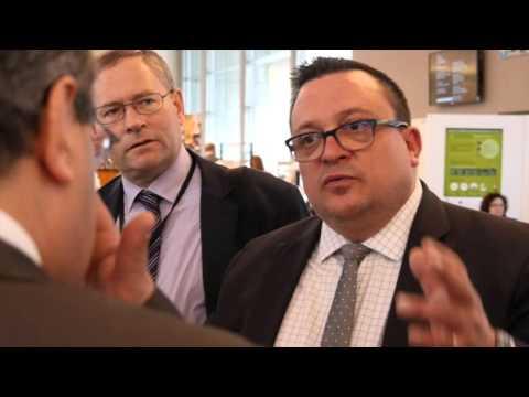 Visite avec Dominique Martin des hôteliers au Parlement européen