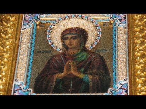 Мироточивая икона Пресвятой Богородицы «Умягчение злых сердец» в Волгограде.