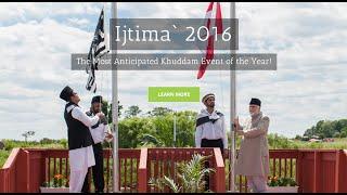 2016 Annual National Ijtima - Day 1 - Majlis Khuddamul Ahmadiyya Canada
