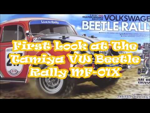 Unboxing the Tamiya VW Beetle Rally