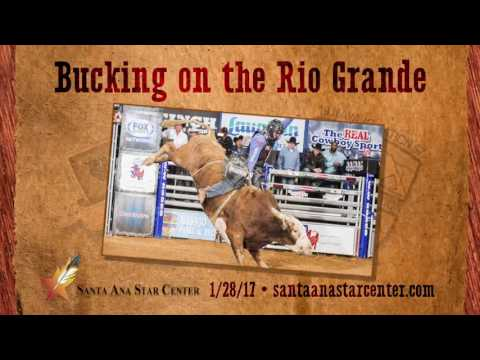 CBR Bucking on the Rio Grande - Santa Ana Star Center - January 28