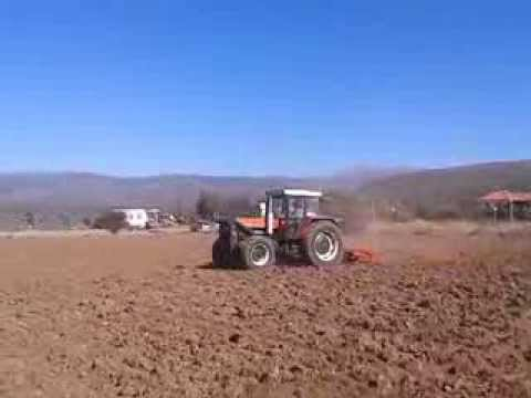 ZETOR 11245 in action...GREECE 2013