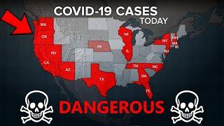 Cases in coronavirus pandemic surge in US