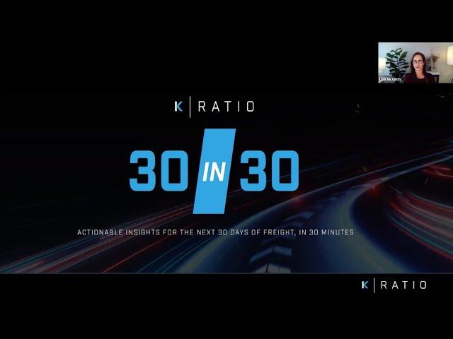 K-Ratio's 30 in 30 April Webinar