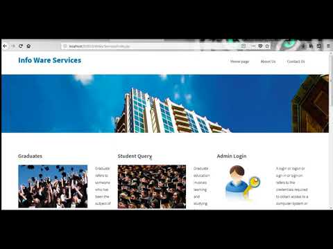 Student and Staff Management System | Student Projects