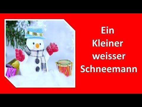Ein kleiner weißer Schneemann with Lyrics ( Jingle Bells- German)