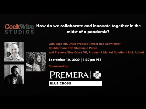 GeekWire Studios | How do we collaborate and innovate together in the midst of a pandemic?