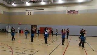 Holly Jolly Rock --- Demo / Line Dance