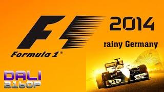 F1 2014 rainy Germany PC 4K Gameplay 2160p