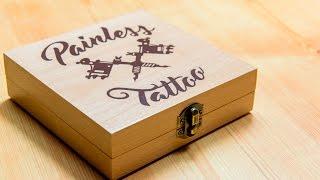 How To Make: Wooden Tattoo Machine Box