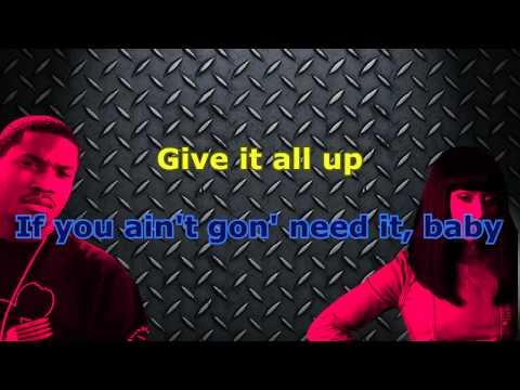 Meek Mill  & Nicki Minaj  -  All Eyes On You (Karaoke/Instrumental)  Ft. Chris Brown
