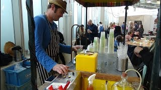"THE ELECTRIC LEMON: Mobile Homemade Lemonade Cart (serving Indian Street ""Style"" Nimbu Pani) London."
