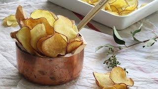 figcaption 바삭바삭 손이 가는 고구마칩🍠 : Sweet Potato Chips [아내의 식탁]