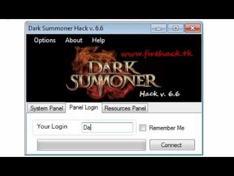 Dark Summoner Hack V.6.6(Gould & Soul Points) Android & IOS 2013