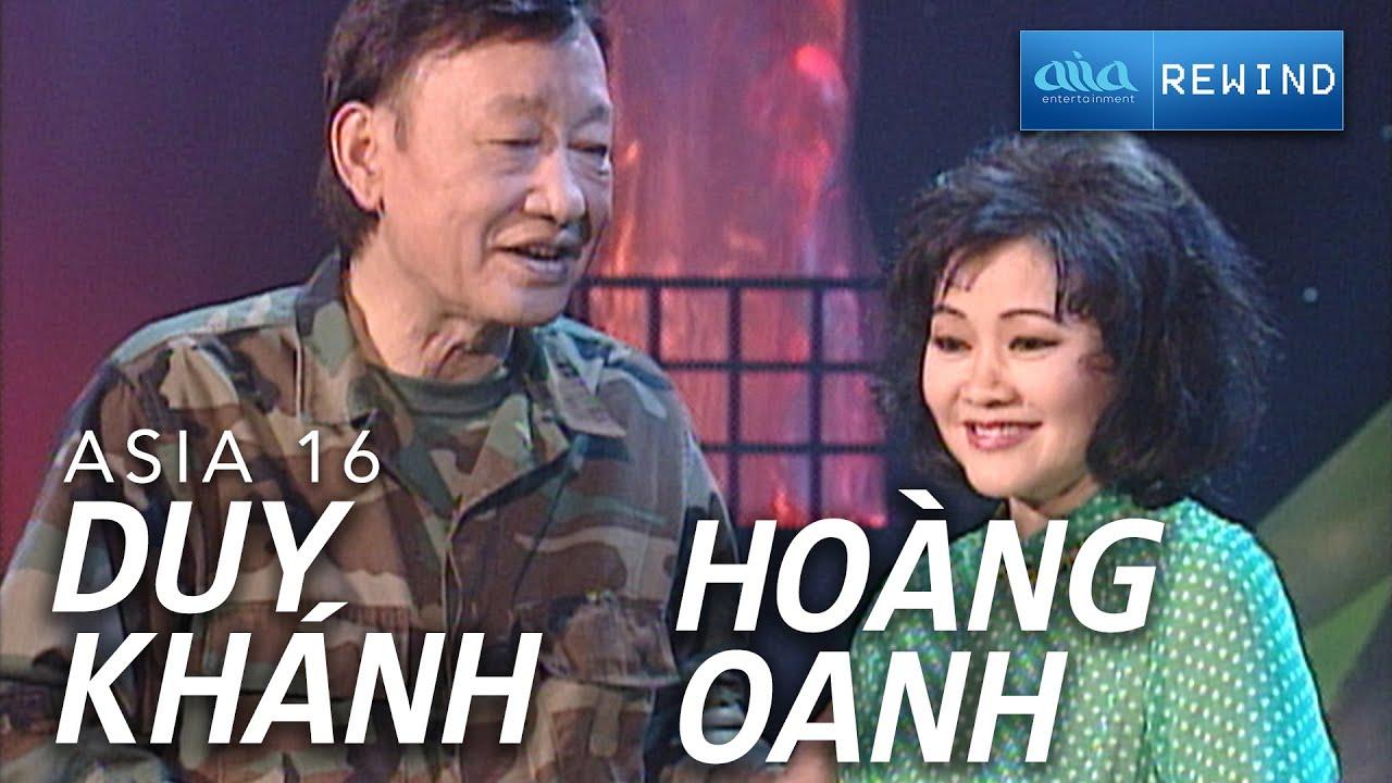 «ASIA 14» Liên Khúc Lính - Hoàng Oanh & Duy Khánh [asia SOUND] #1