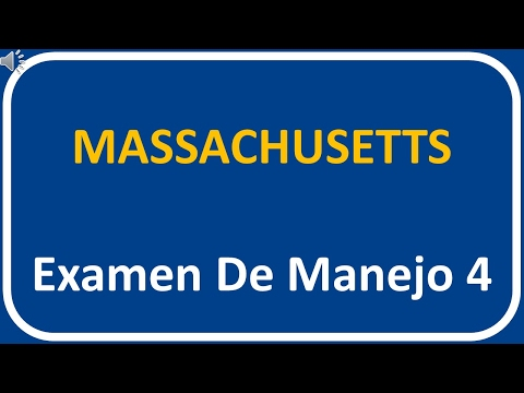 Examen De Manejo De Massachusetts 4