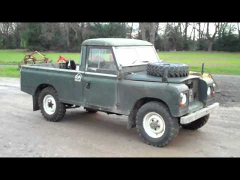 my new land rover series 2a 109 youtube. Black Bedroom Furniture Sets. Home Design Ideas