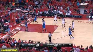 Andre Roberson Is Scared Of Free Throws | Rockets vs Thunder Game 5 | NBA Highlights HD