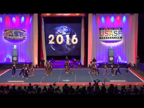 Rockstar Cheer Beatles Bronze Medal Worlds 2016