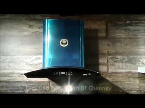 Elica OSB HAC Touch BF Chimney 60 cm HEAT AUTO CLEAN | Apnidukaan.com