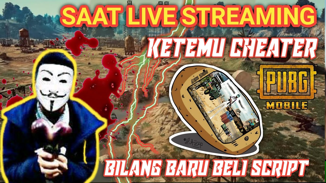 KETEMU CHEATER SAAT LIVE STREAM - BARU BELI NO BANNED PUBG MOBILE INDONESIA