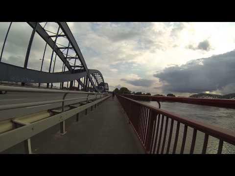 SlowTV - Bike Tour: Ahrensburg to Hamburg to Elb-Bridges (2/2) Fahrrad bis Elbbrücken
