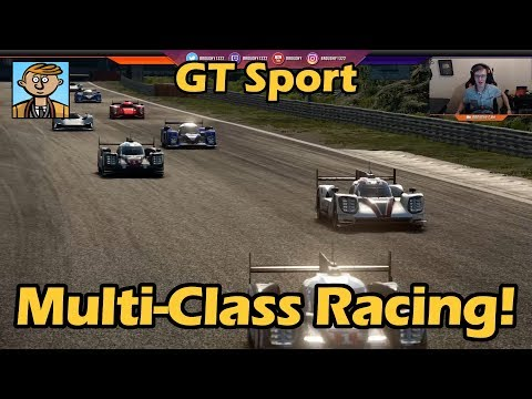 Multi Class Racing! - Gran Turismo Sport Live #7