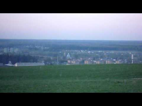 Жуковский район калужской области, съёмка с возвышенности