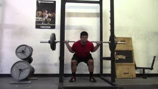 Supersquats - workout 16 - 7/14/15